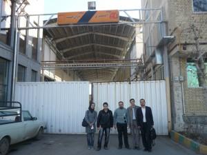 بازدید از شرکت ایران چسب | ایرانگشت۱۳۹۰-۱۰-۱۵